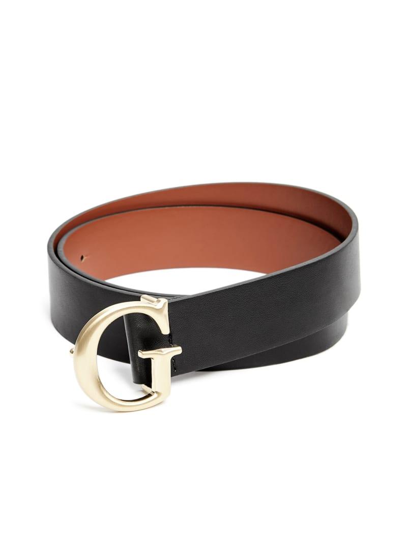 Brushed G Buckle Belt