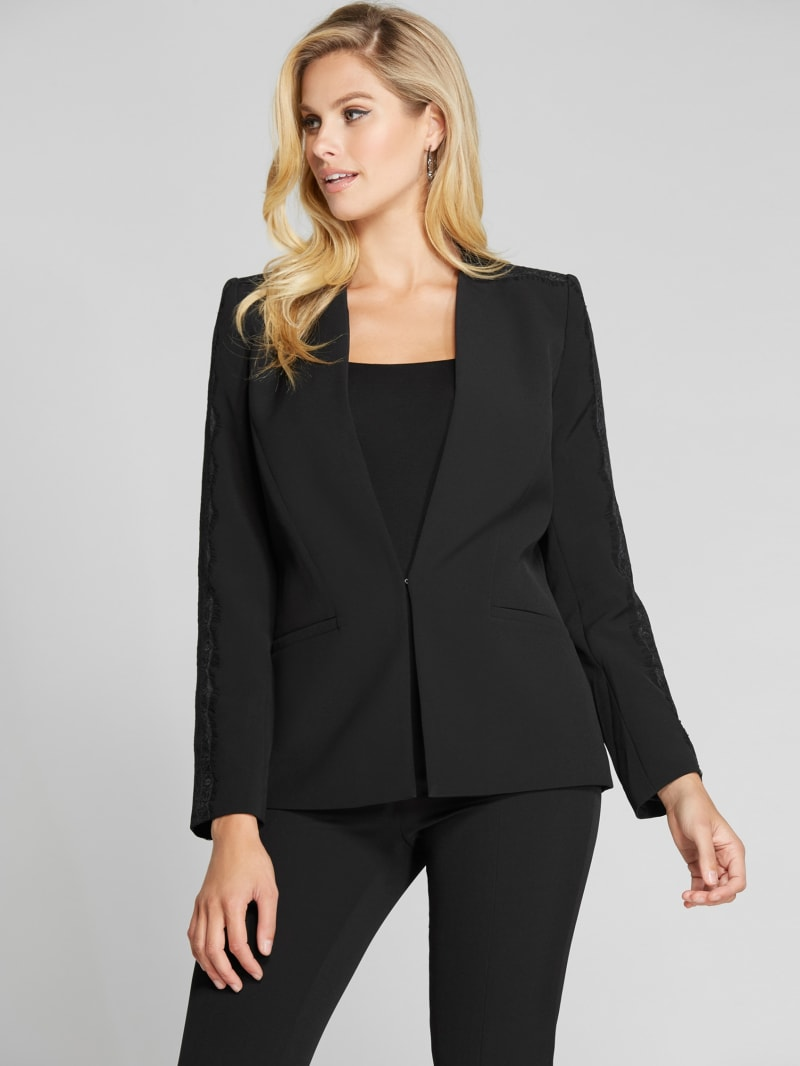 The Fame Collarless Blazer