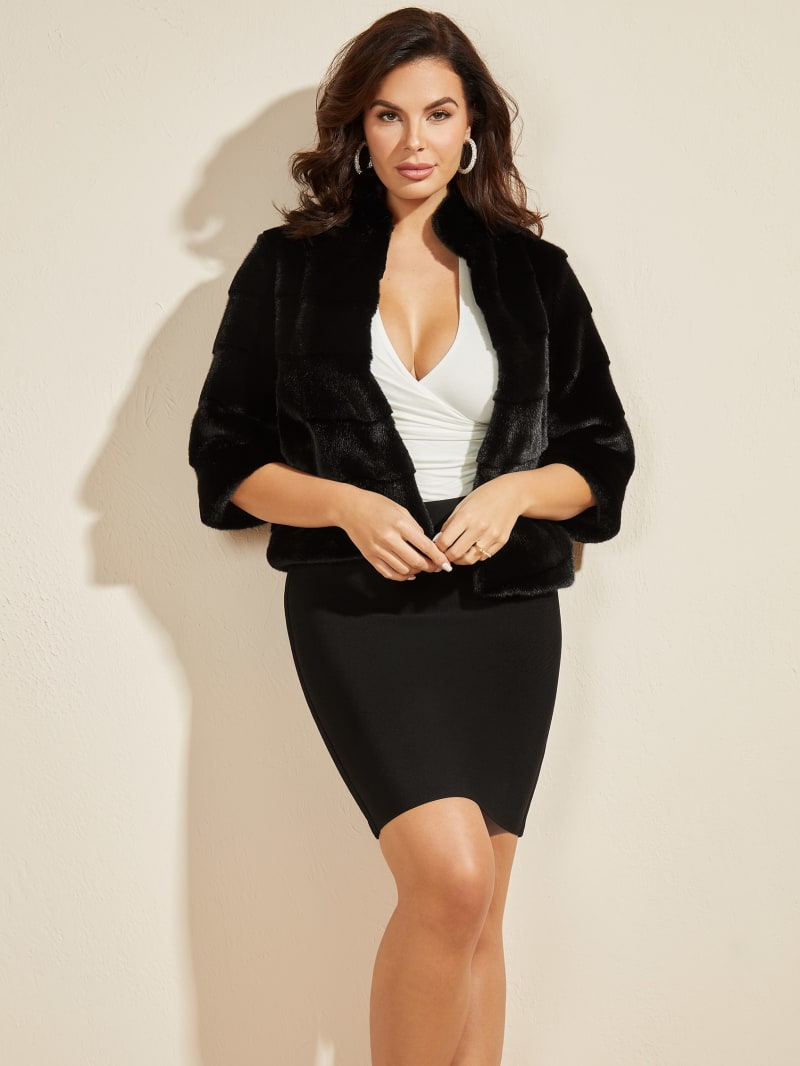 Renzo Faux Fur Coat
