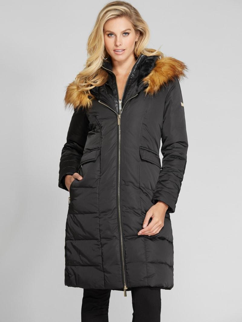 Aspen Midi Faux-Down Coat