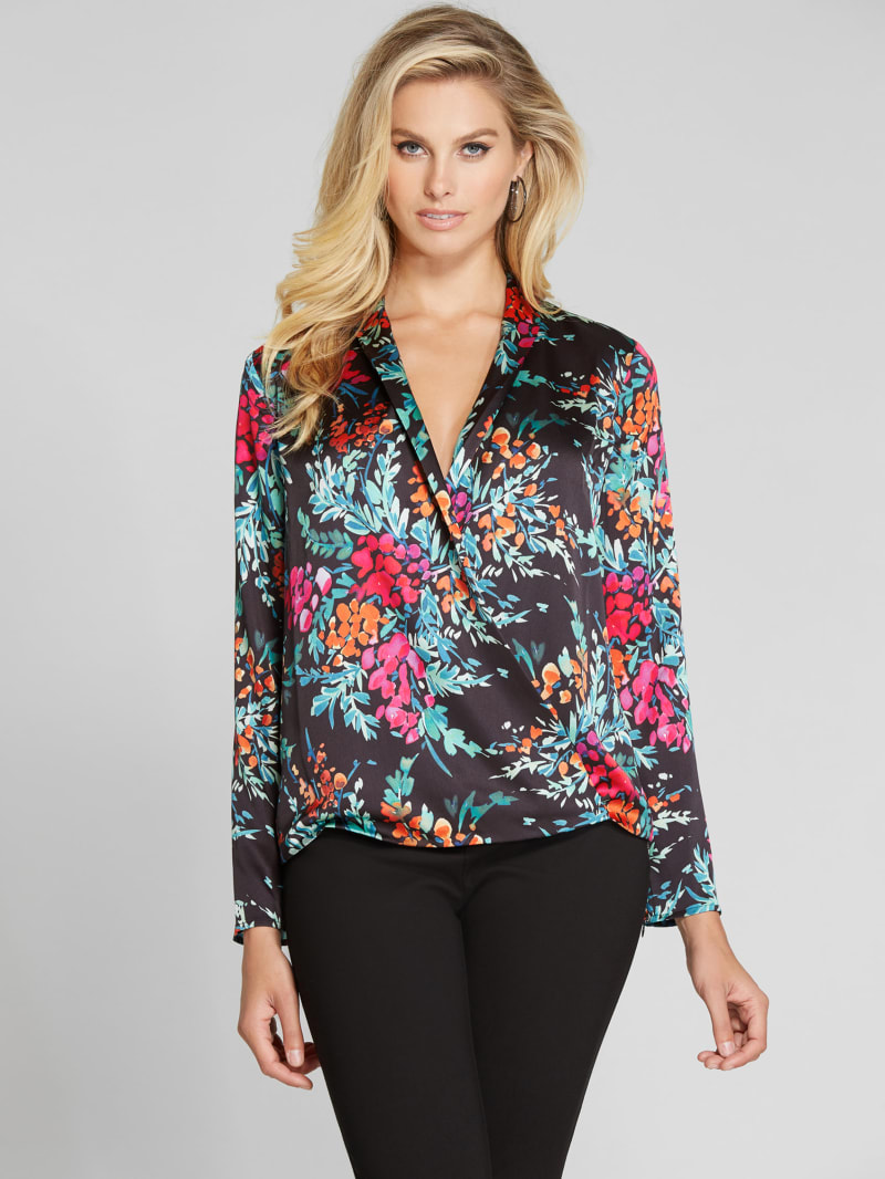 Keep Me Close Surplice Top
