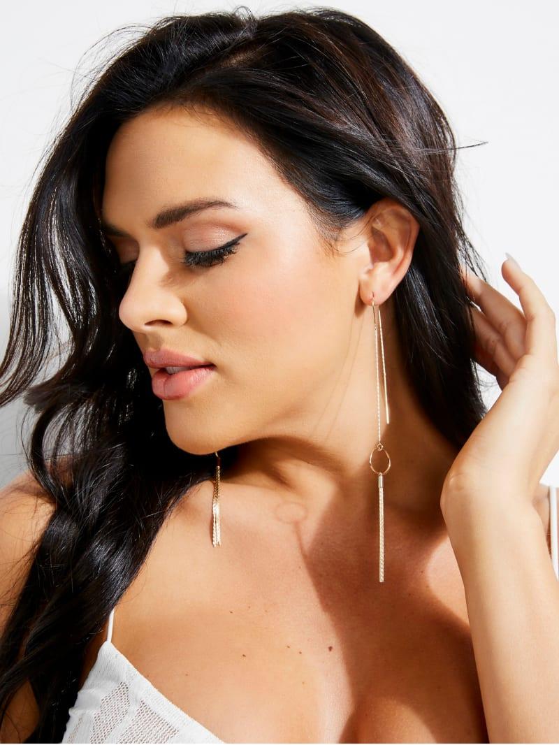 Gold-Tone Mikah Tassel Drop Earrings