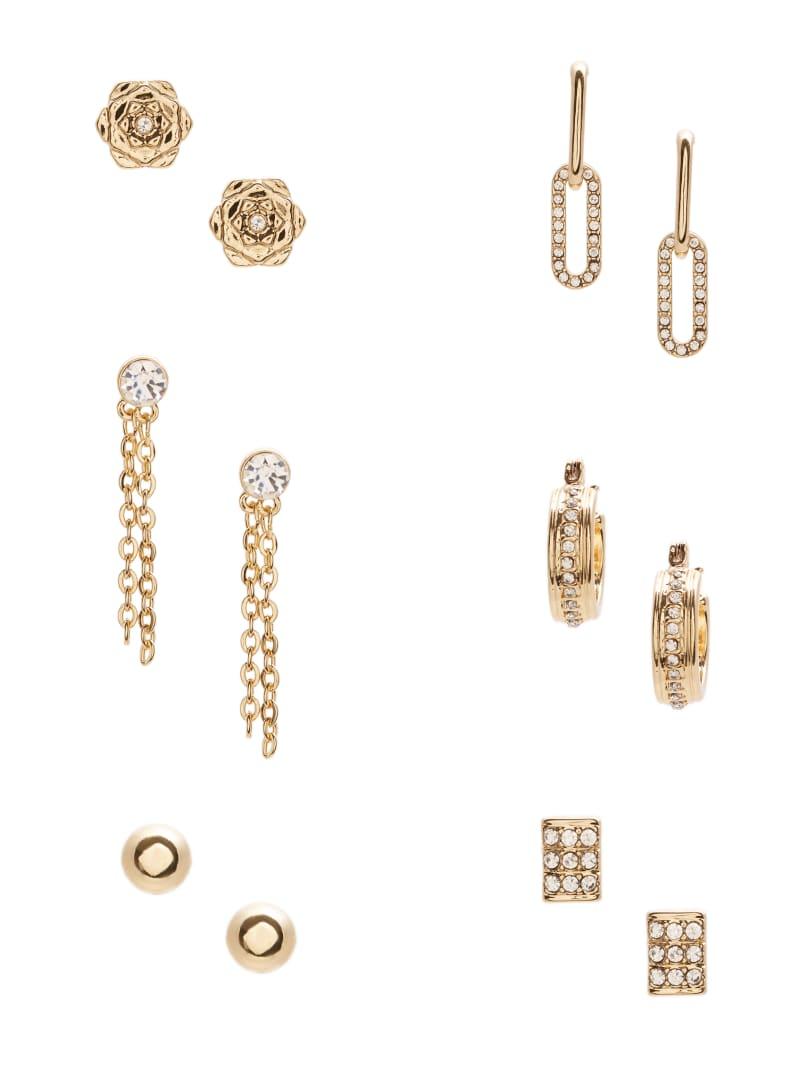Peony Stud Earrings Set