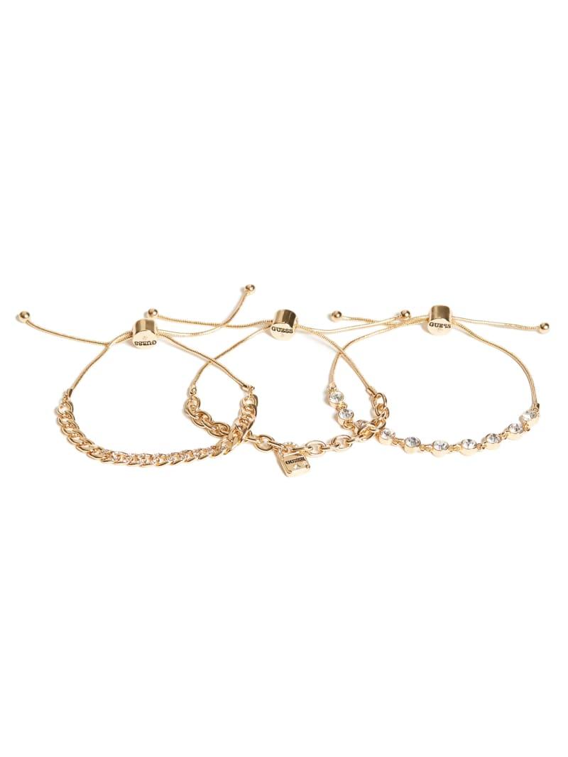 Gold-Tone Slider Bracelet Set