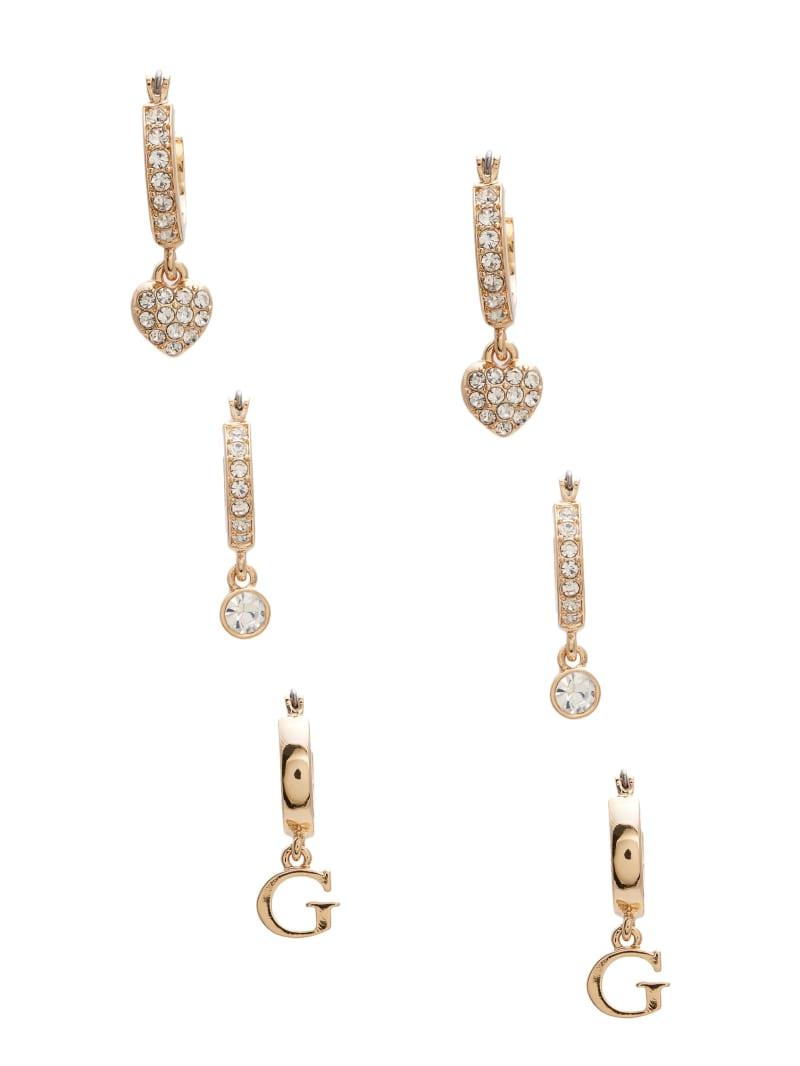 Huggie Hoop Earrings Set