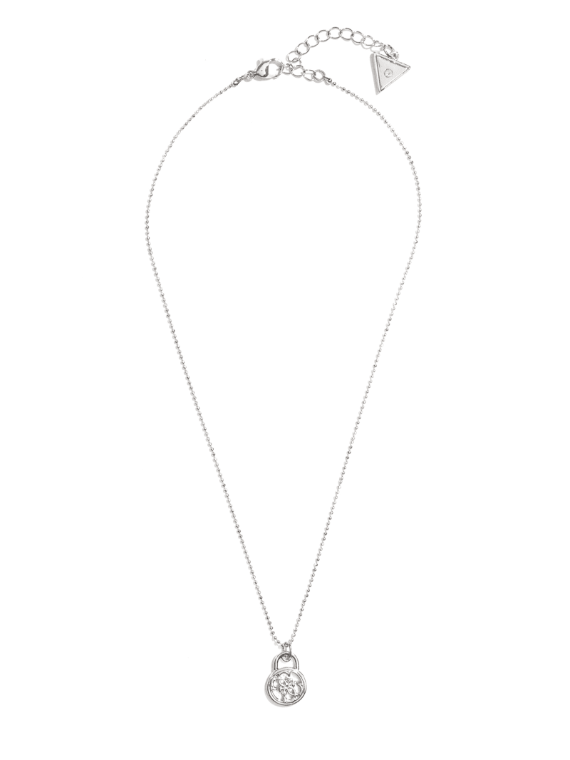Silver-Tone Quattro G Necklace