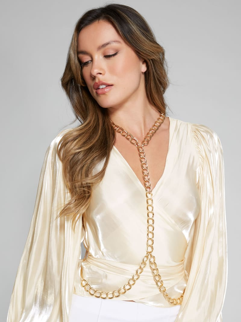 Gold-Tone Body Chain