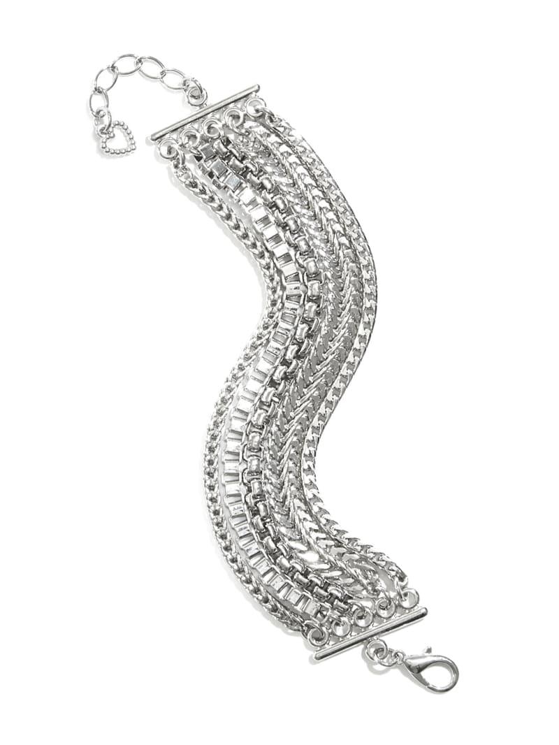 Mixed Chain Layered Bracelet