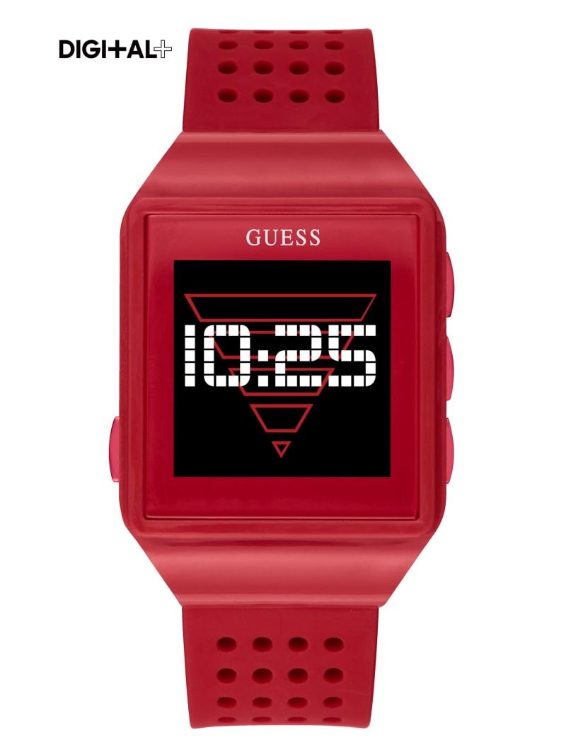 Red Logo Digital Watch