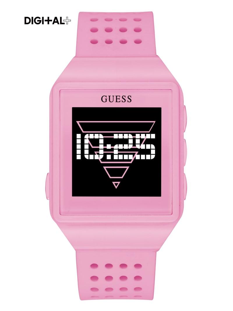 Pink Logo Digital Watch