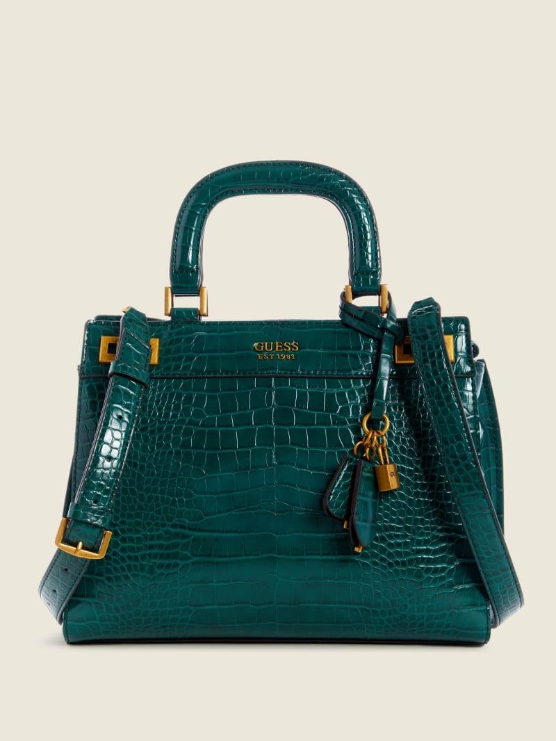 Katey Croc Luxury Satchel