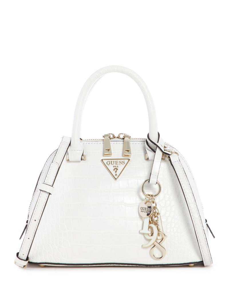 Maddy Croc Small Dome Satchel