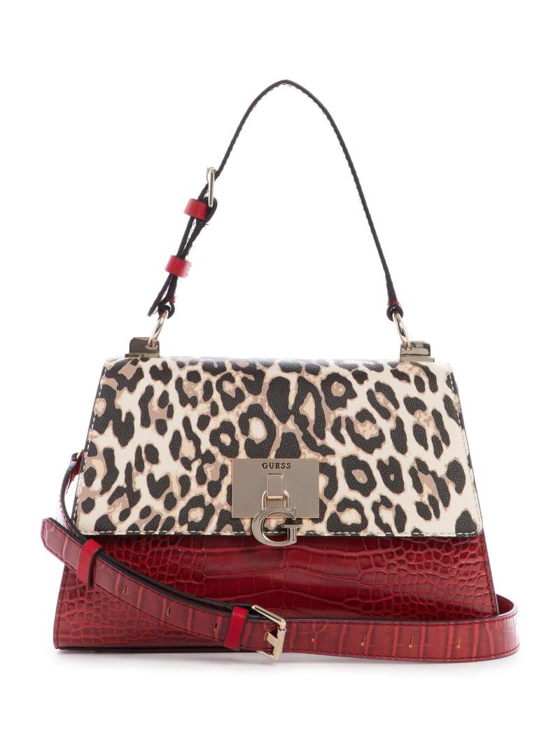Stephi Top-Handle Flap Bag