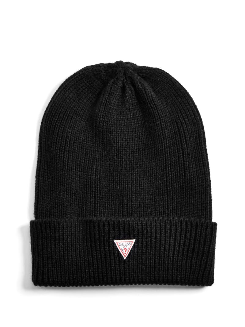 Ellison Triangle Patch Beanie