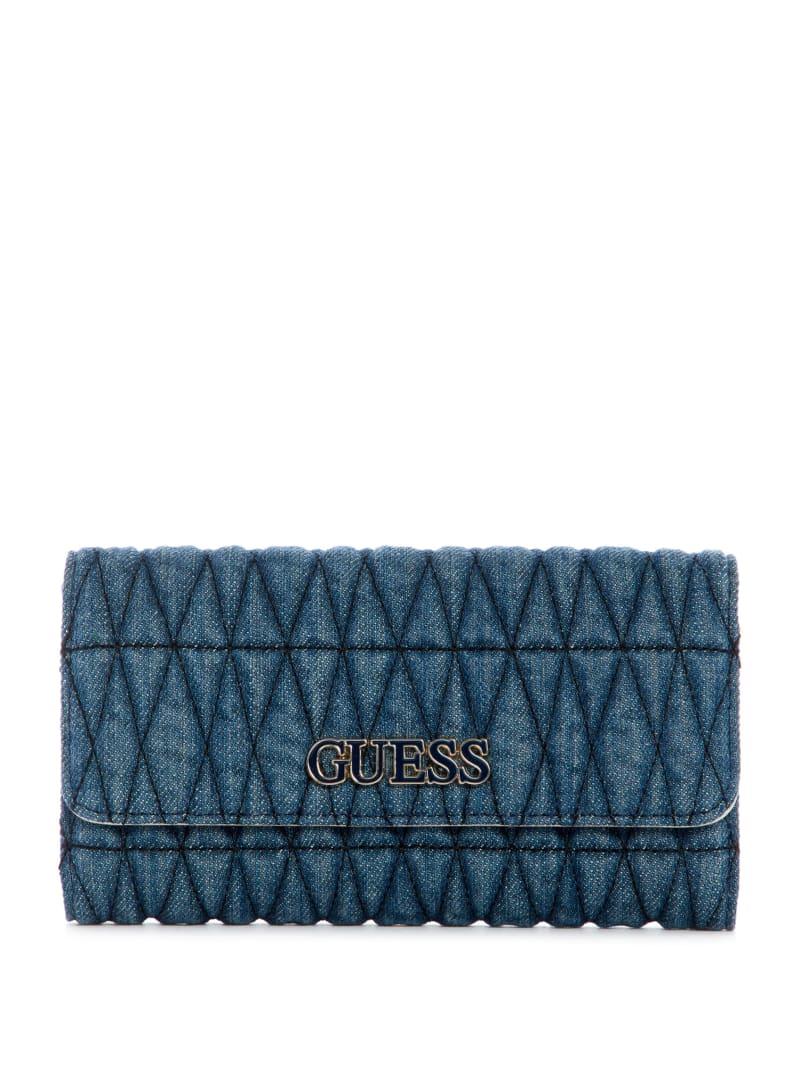 Brinkley Denim Clutch Wallet