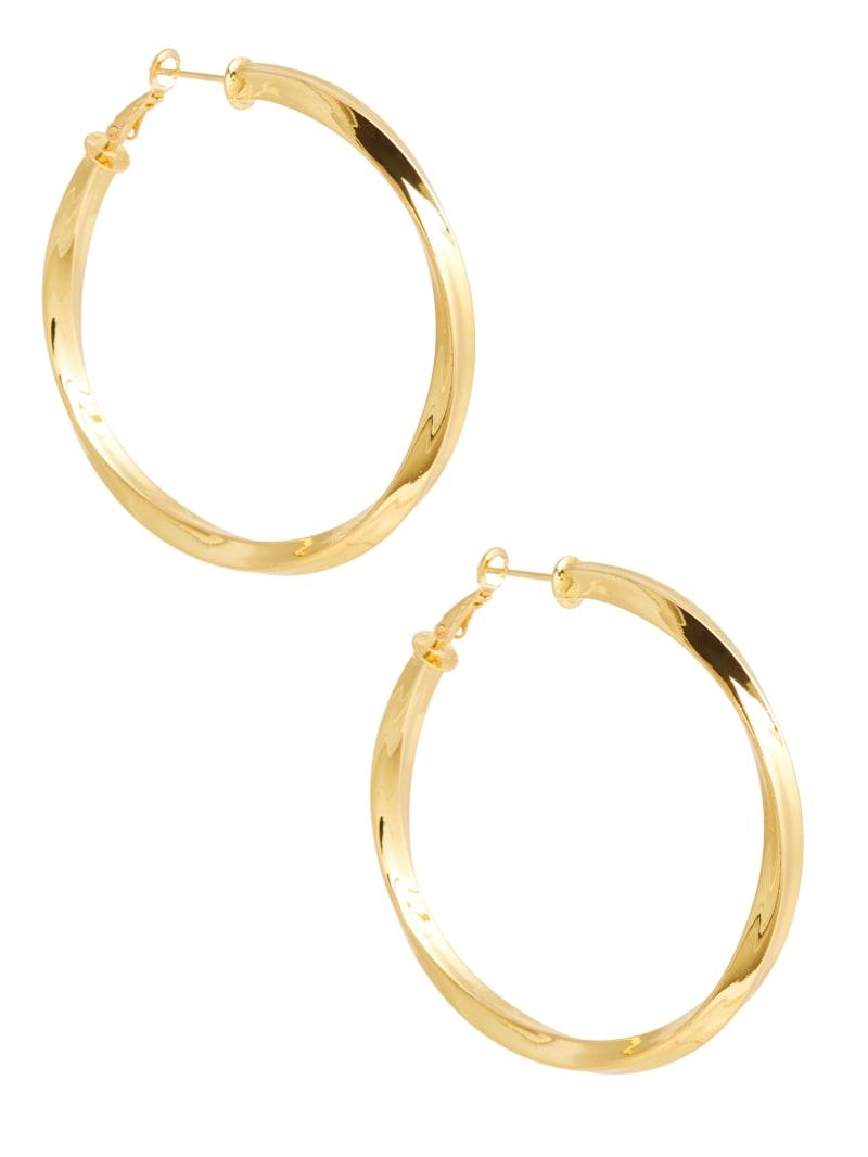 Sleek Hoop Earrings
