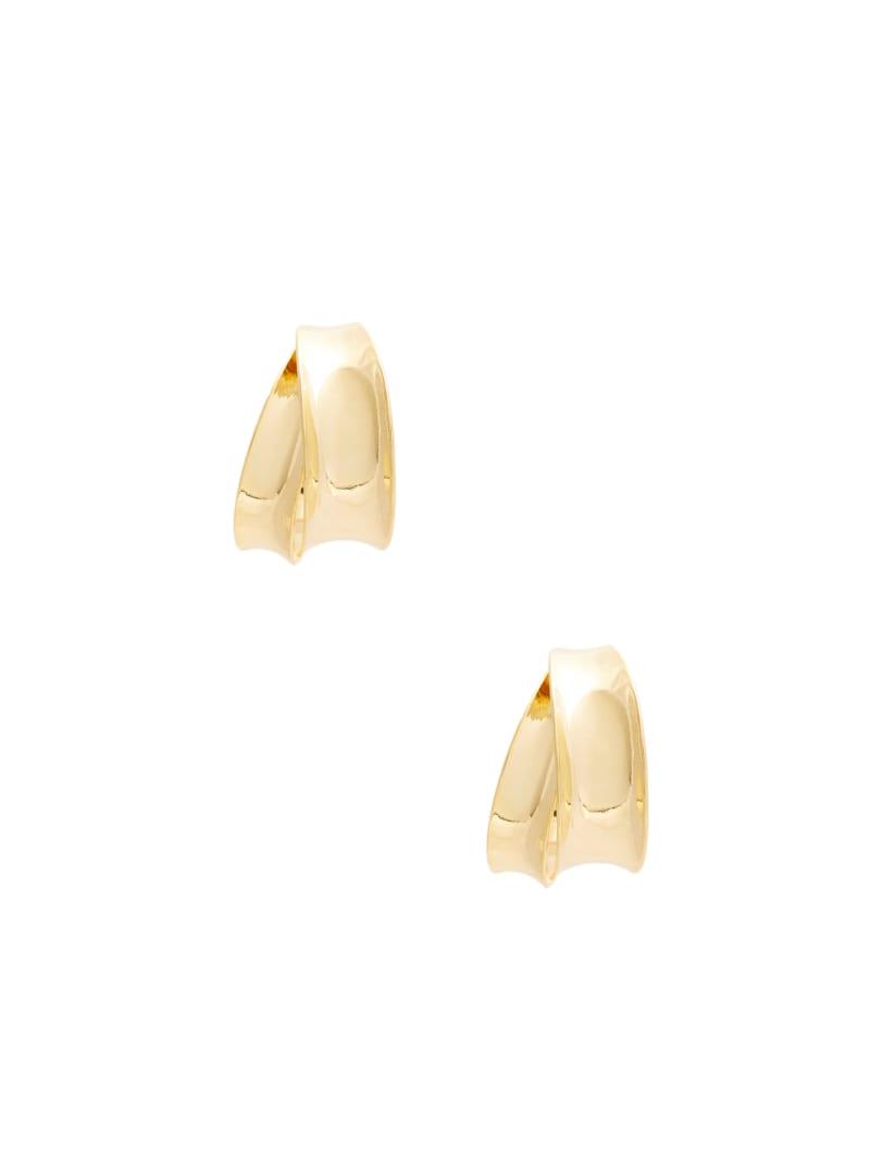 14KT Gold Double Hoop Earring