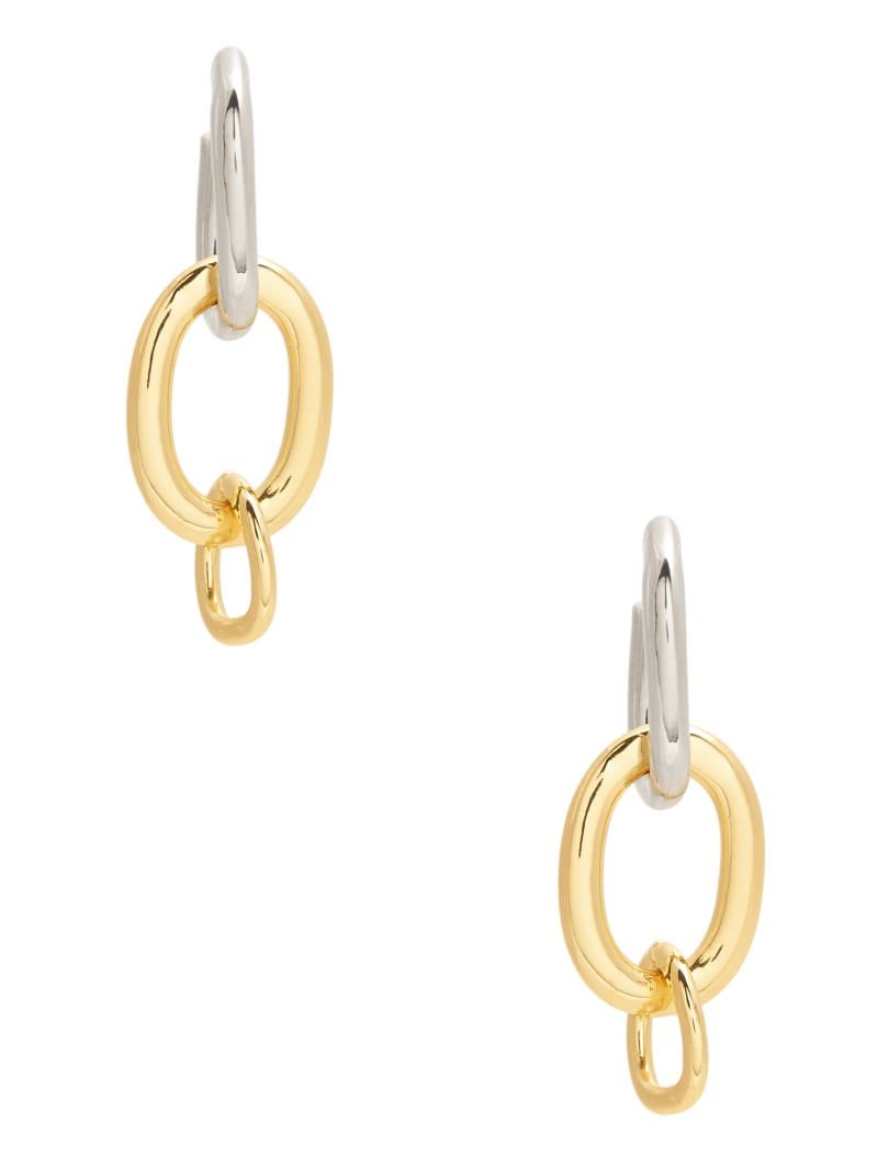 Multi-Tone Chain Earring