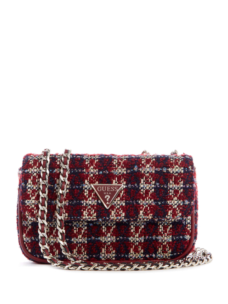 Cessily Tweed Mini Crossbody