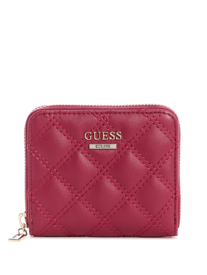Cessily Quilted Small Zip-Around Wallet