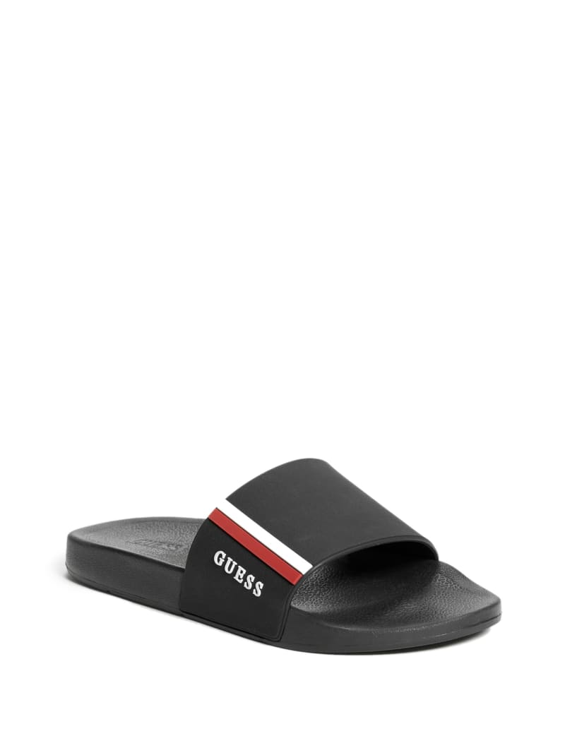 Elite Stripe Slide Sandals