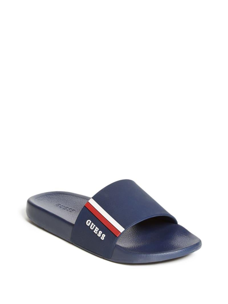 Elite Stripe Slide Sandals