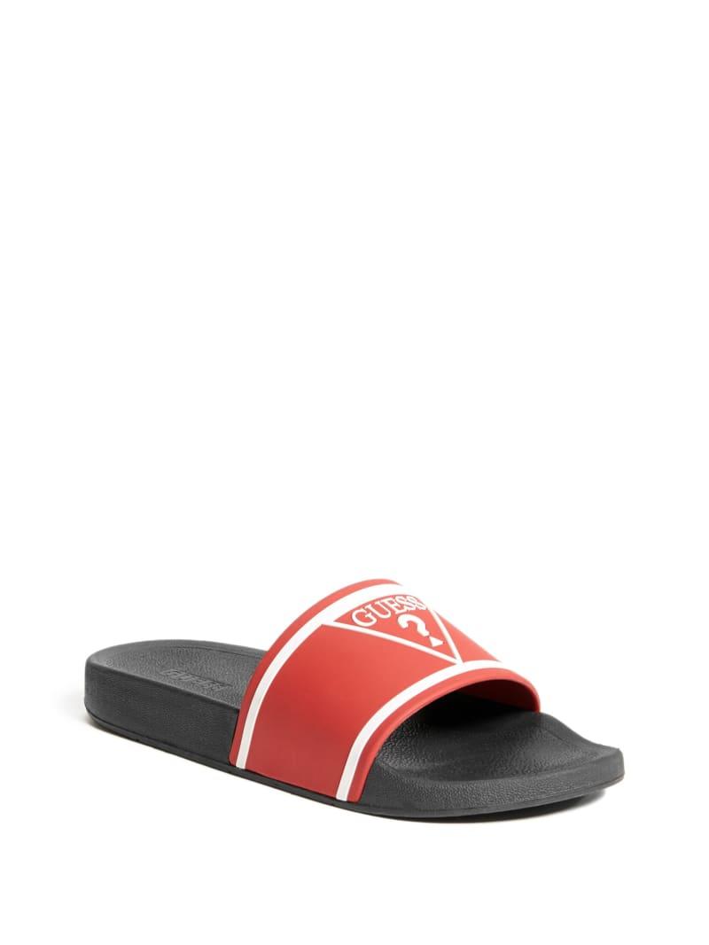 Elvern Logo Slide Sandals