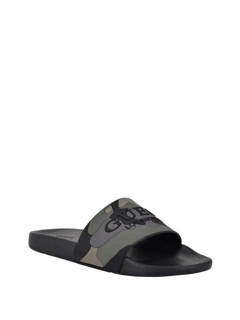 Evoke Camo Slide Sandals