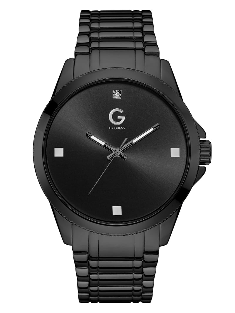 Black and Crystal Watch