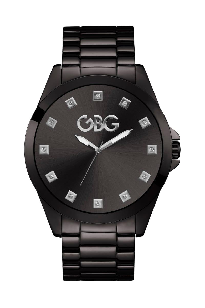 Black Oversized Analog Watch