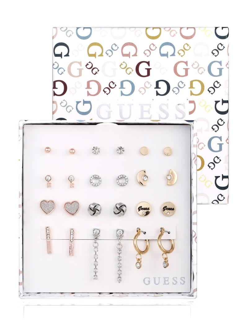 Multi-Tone Stud Earrings Box Set
