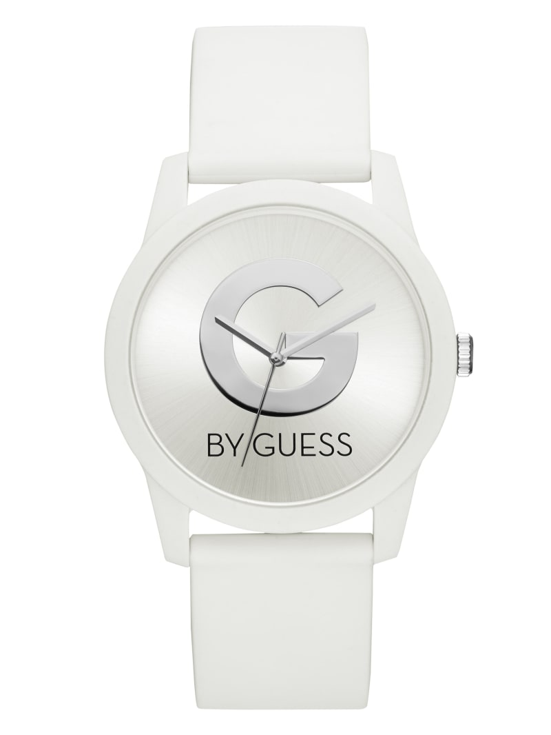 White Logo Watch