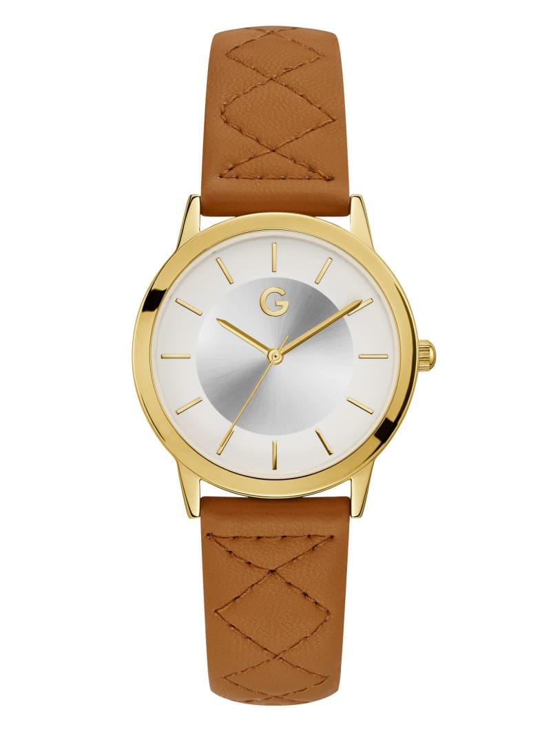 Cognac Time Traveler Watch