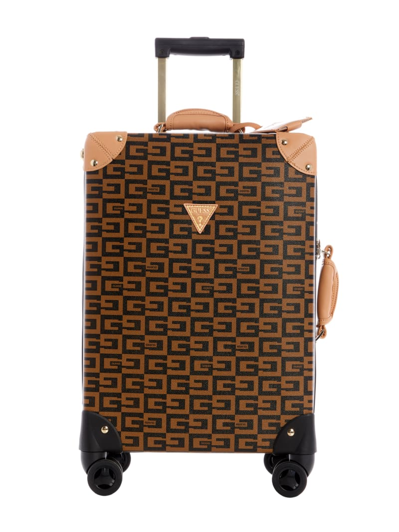 "Logo Print 18"" Spinner Suitcase"