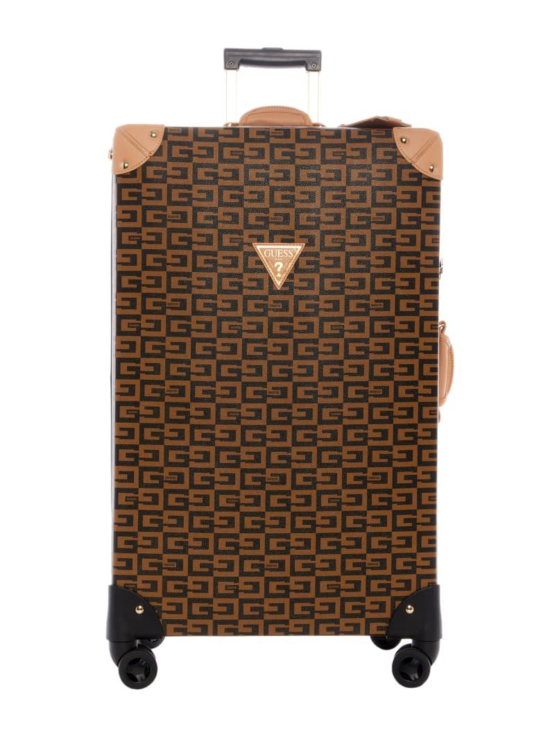 "Logo Print 28"" Spinner Suitcase"