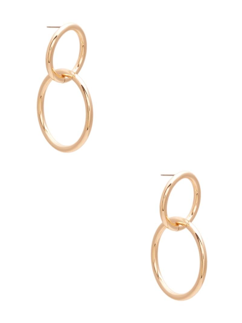 Dangling Double Hoop Earrings