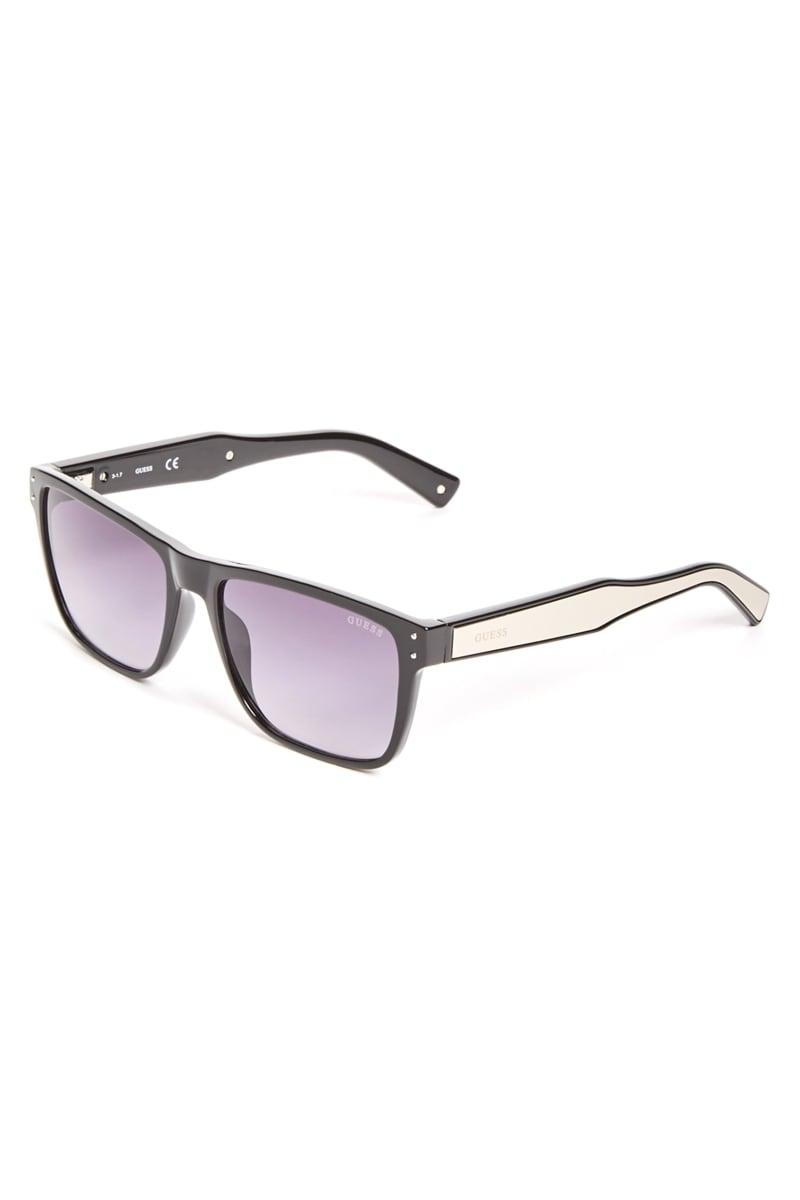 Metal Arm Square Sunglasses