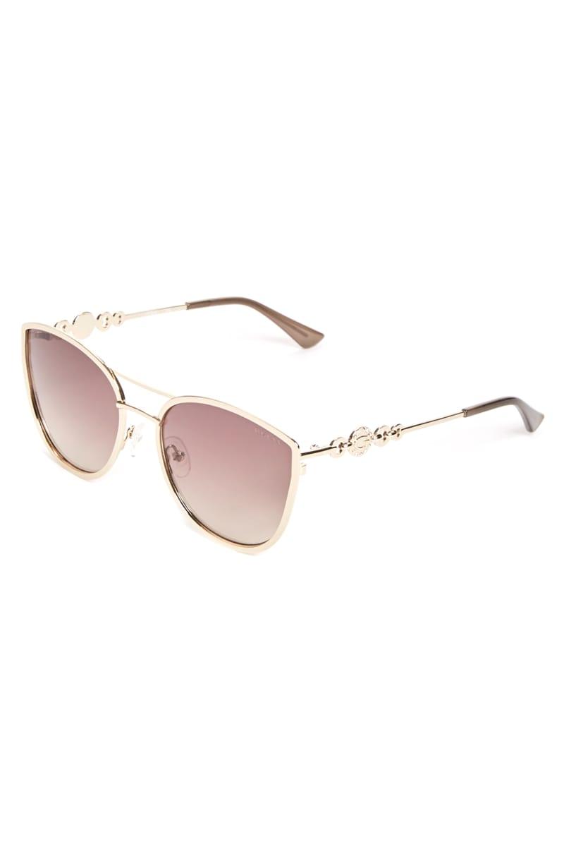 Cat Eye Metal Sunglasses