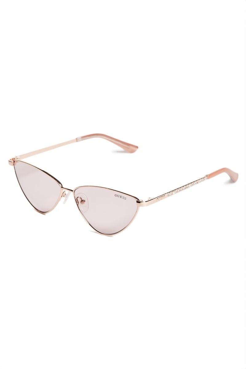 Metal Mini Cat-Eye Sunglasses