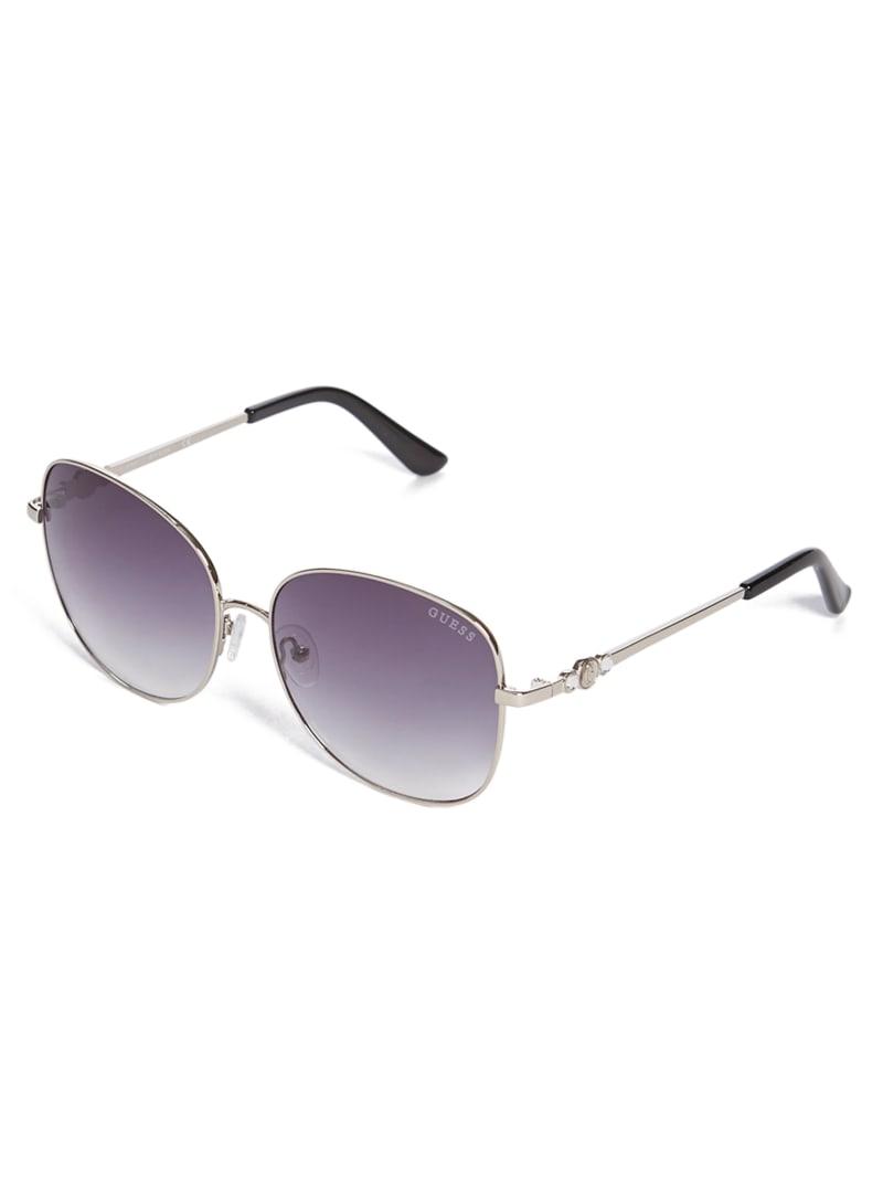 Tinted Oversize Round Sunglasses