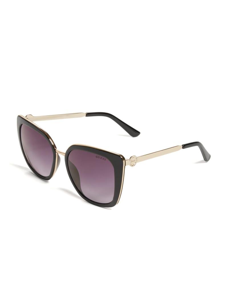 Plastic Cat Eye Sunglasses