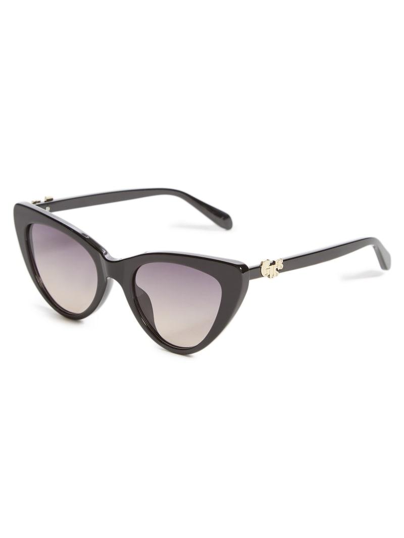 Script Cat Eye Sunglasses