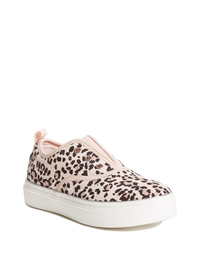 Bianca Leopard Slip-On Sneakers