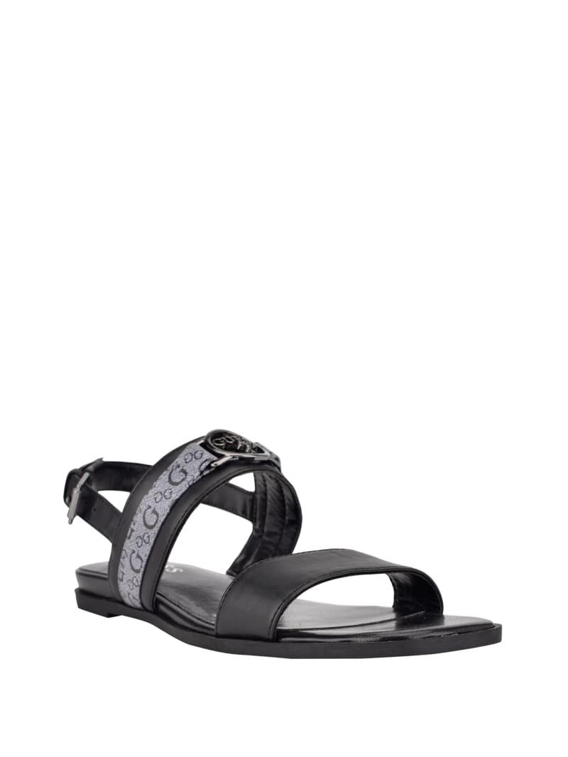 Carle Logo Strap Sandals