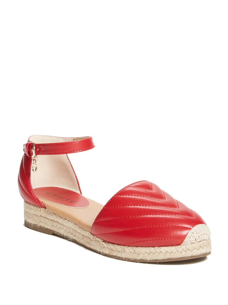 Charley Quilted Espadrille Flats