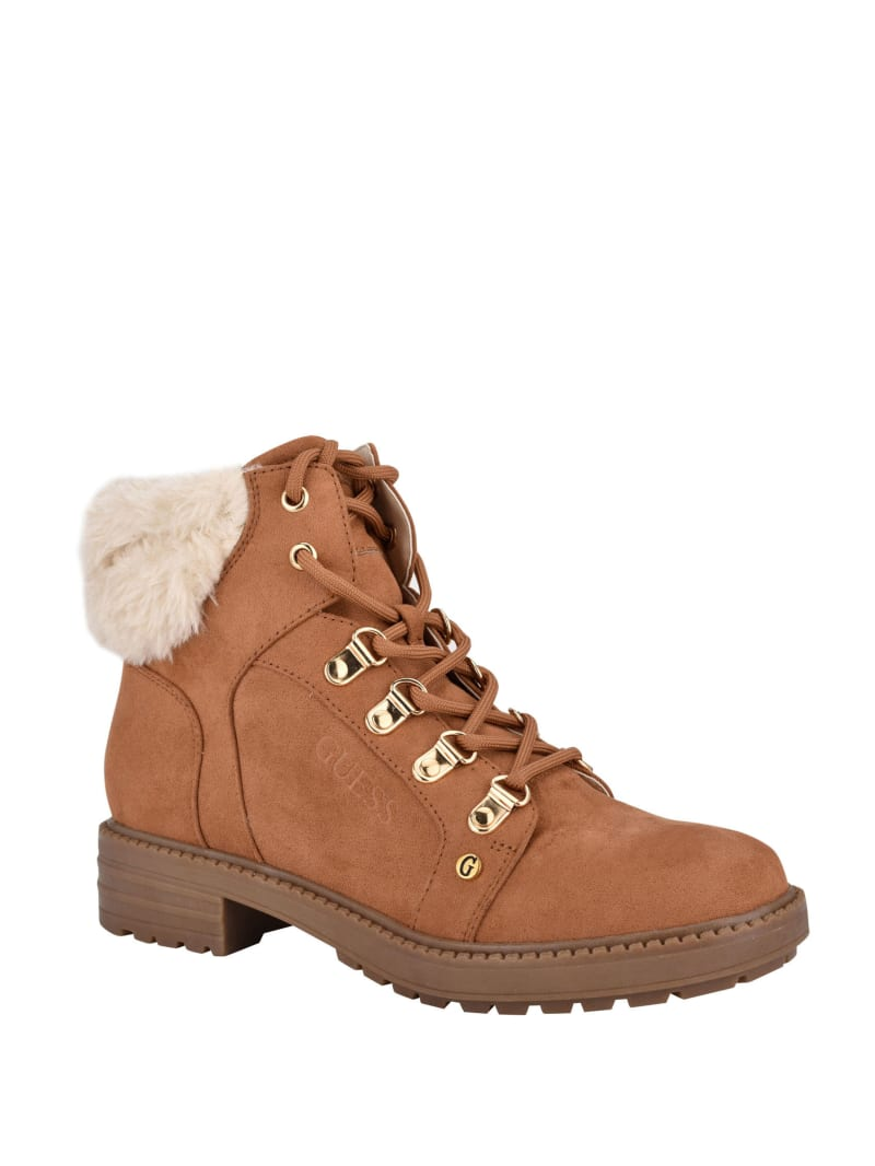 Gives Sherpa Booties