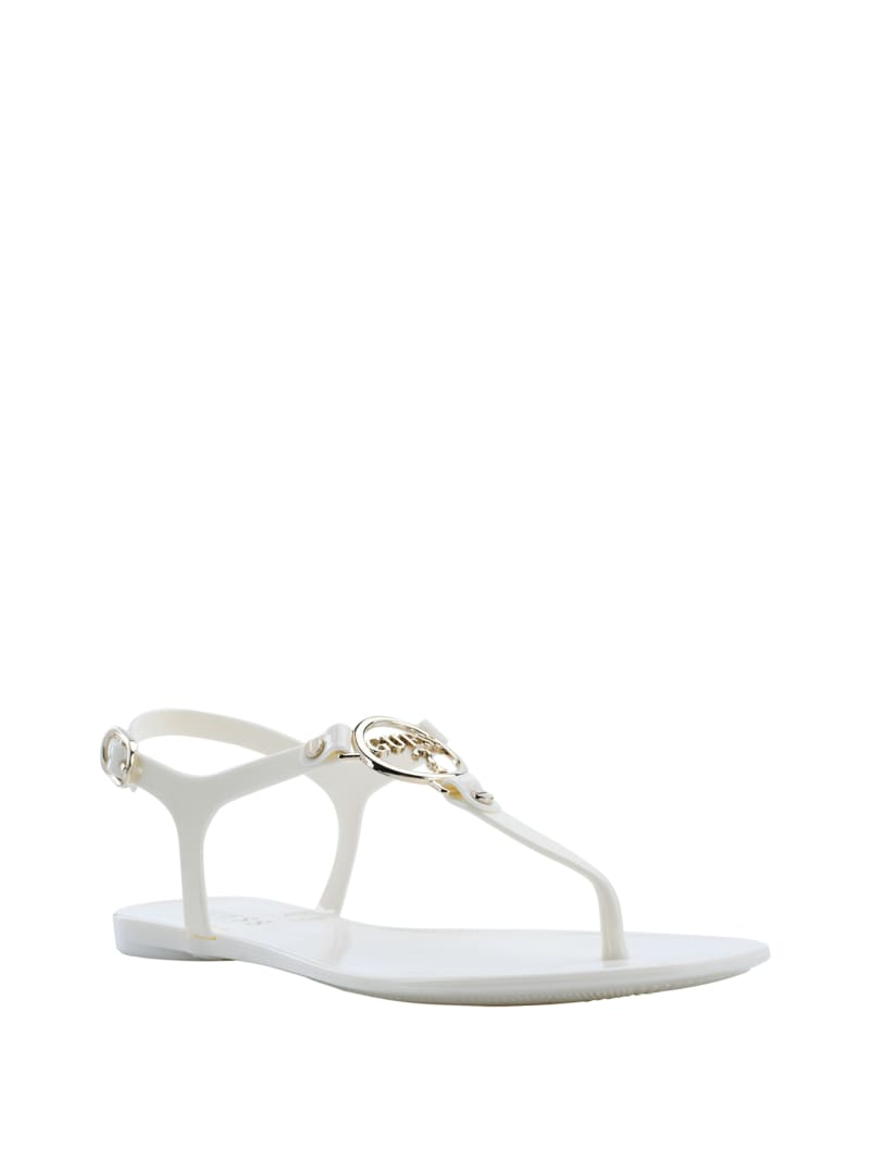 Janell Jelly T-Strap Sandals