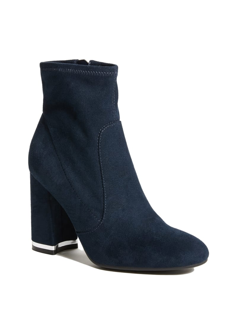 Jena Faux-Suede Booties