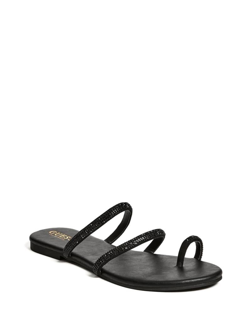 Karolina Rhinestone Banded Sandals
