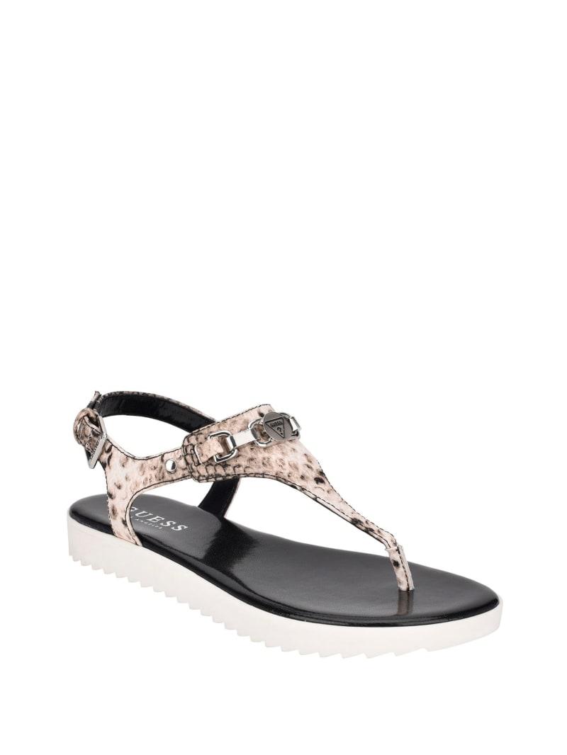 Keeps Logo Thong Sandals